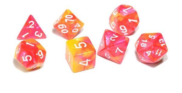 7 x RPG Dice Bundle + Bag of Holding