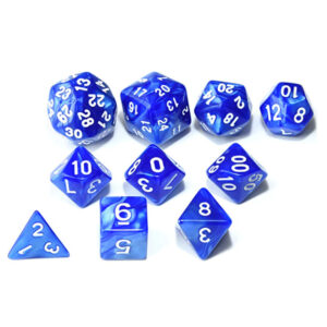 RPG Dice Set - Blue