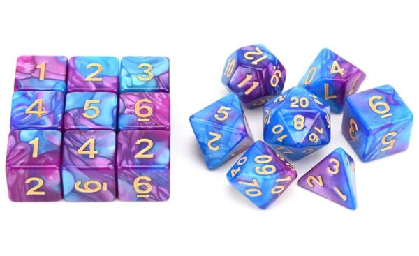 Cultist Dice - Game Set (16 Dice)