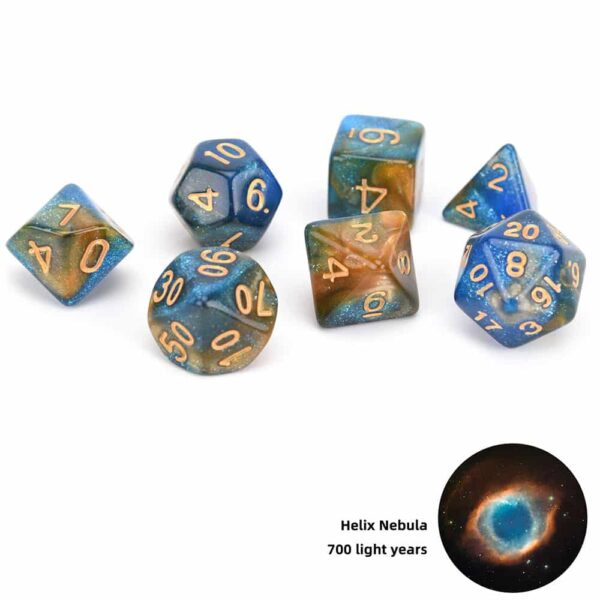 RPG Dice Set - Draconian Odyssey