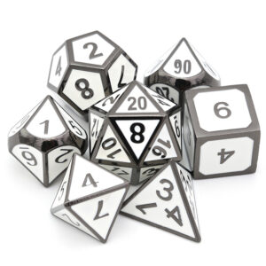 Paladins Aura Metal Dice Set