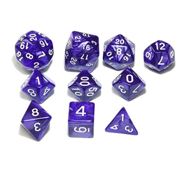 RPG Dice Set - Purple