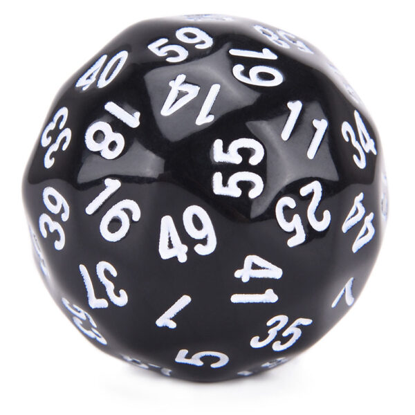 D60 White Numbers